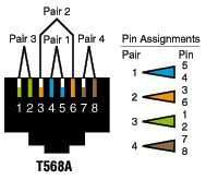 t568a t568b wiring diagram get free image about wiring diagram