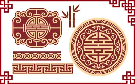 chinese pattern vector download chinese classical pattern 5 free vector graphic download