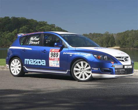 mazda 3 mps rally car revealeda and ready for targa