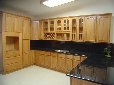 Kitchen Cupboard Furniture Oak Kitchen Cabinets Solid All Wood Kitchen