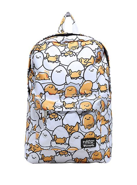 7 Accessories By Loungefly by Loungefly Gudetama Egg Print Backpack Topic