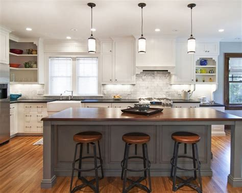 dazzling kitchen center island with seating and white milk glass pendant lights also white