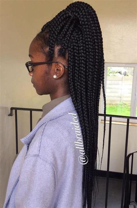 how many bags for big box braids 40 best big box braids hairstyles jumbo box braids