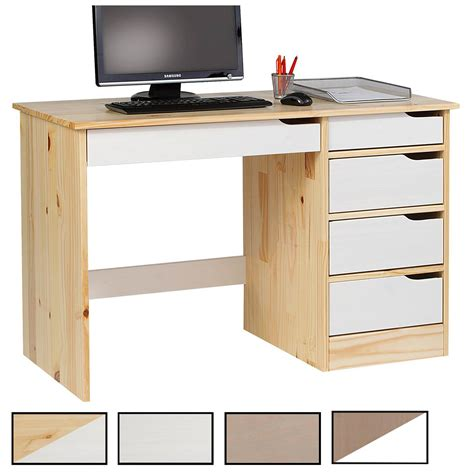az bureau bureau en pin massif hugo mobil meubles