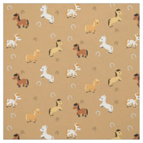 pattern for fabric horse pattern fabric zazzle