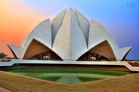 bahá í house of worship baha i house of worship lotus temple hdr creme