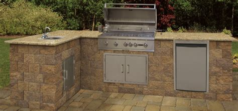 Outdoor Kitchen Kits by Kitchens Cambridge Pavingstones Outdoor Living