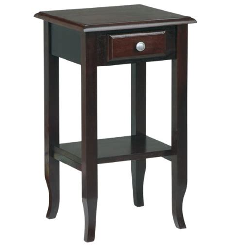 Small End Table With Drawer by Office Merlot Small End Table With Drawer New Best