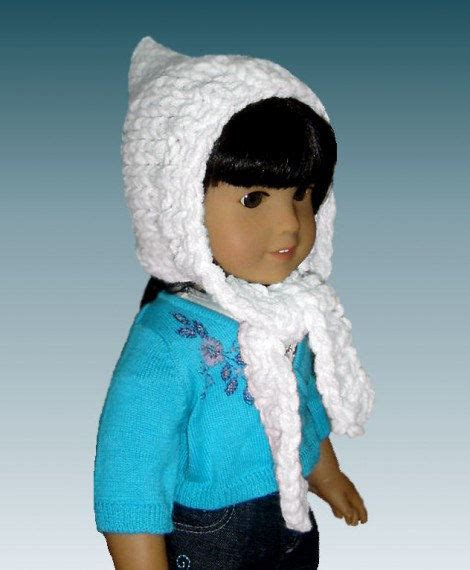 knitting patterns hat scarf combination knitting pattern fits 18 inch american girl pixie hat