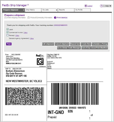fedex home delivery tracking