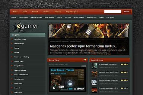 wordpress themes video games 10 wordpress themes for video games anti social
