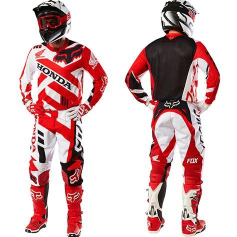 fox honda motocross gear 2016 fox 360 honda gear combo pro style mx