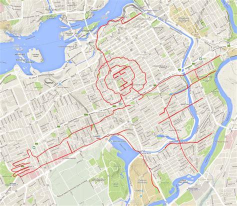 km doodlebug map sketchbook of a gps artist page 3
