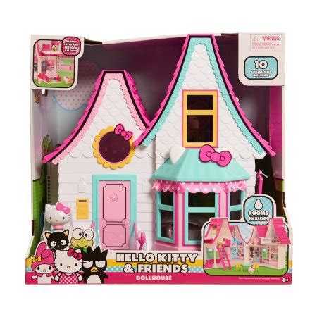 hello kitty doll house hello kitty doll house over 15 inches tall walmart com