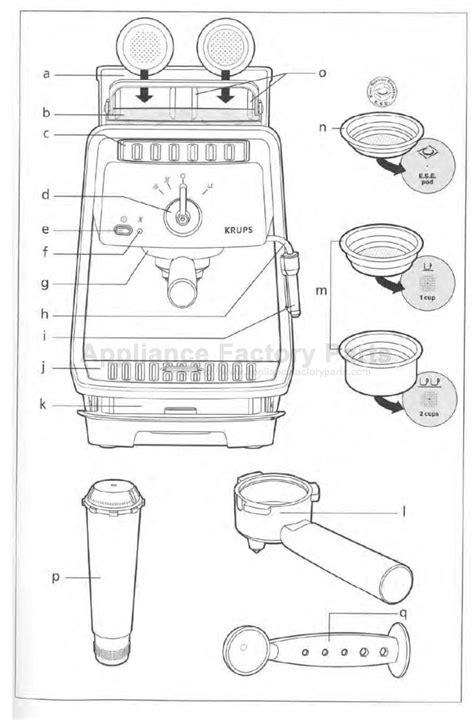 Parts For Xp4030 Krups Small Appliances