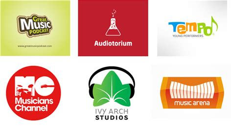 design a music logo how to create a music company logo with easy steps