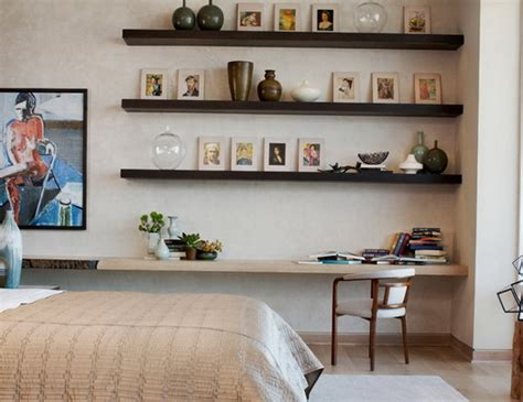 how to decorate shelves in a bedroom a variety of shelves in the bedroom2014 interior design