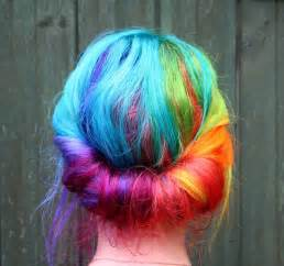 colorful hair beautiful rainbow hair hair colors ideas