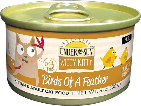 witty cat food the sun witty birds of a feather grain free