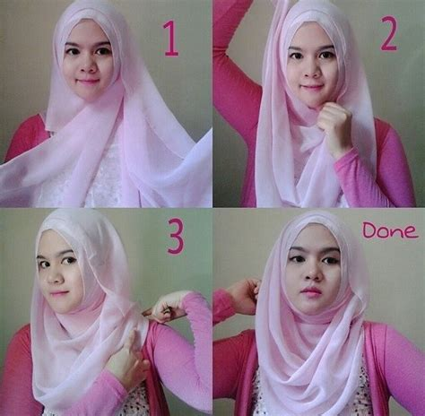 tutorial hijab bawal simple 17 best images about hijab tutorial on pinterest simple