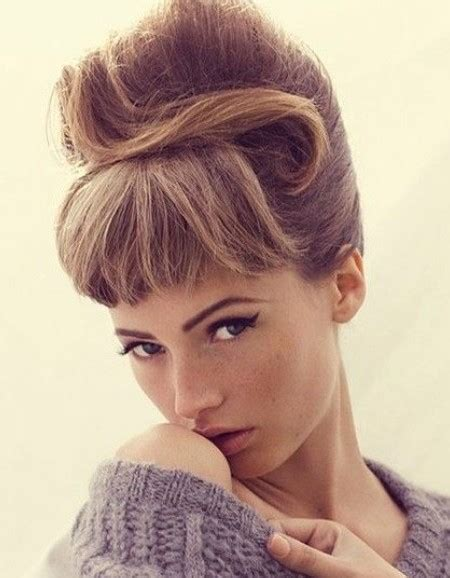 Vintage Hair Updo by Gorgeous Retro Updo Hairstyles Haircuts Hairstyles 2017