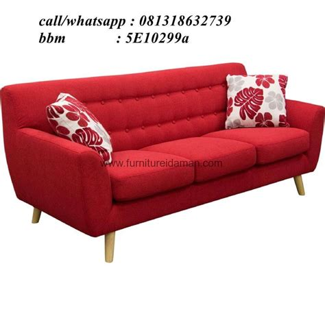 kursi sofa santai busa lj 26 ks 01 furniture idaman