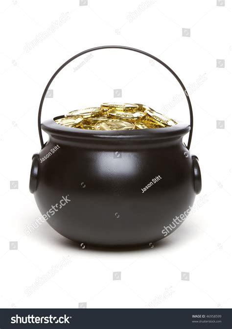 pot gold stock photo 46958599