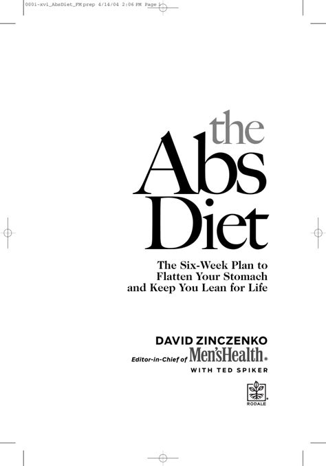 The Power Abs Diet by Archives Detoday