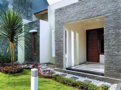 gambar teras rumah minimalis sederhana  modern