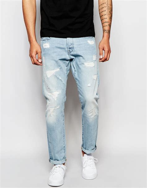 light blue pants mens light colored blue jeans jeans to