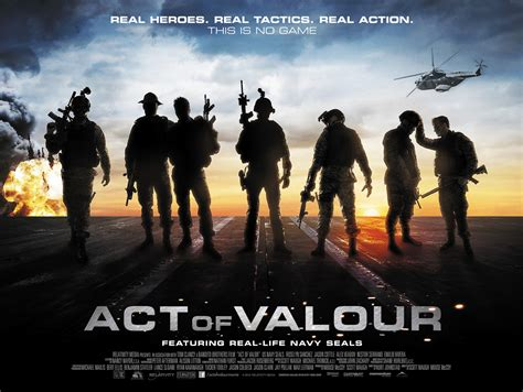 film perang iraq affiches act of valor de mike mccoy 2012