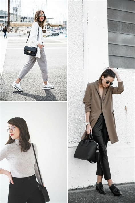 minimalist fashion outfits to copy stylecaster style minimalist style outfit ideas 2018 onlywardrobe com