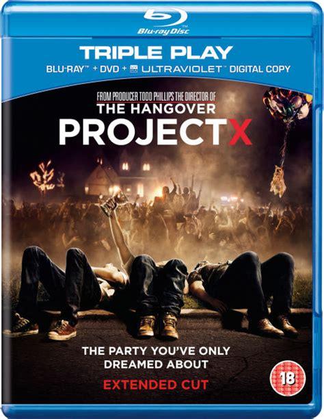 download film qualità blu ray project x triple play blu ray dvd and ultraviolet copy