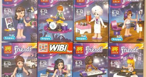 Lego And Friends Set Murah mainan lego lego kw murah banyak macam jakarta