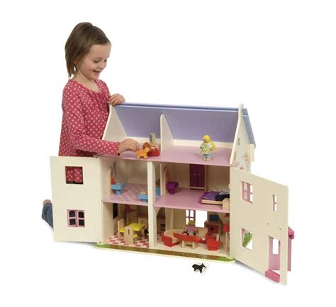 bigjigs dolls house bigjigs rose cottage dolls house furniture and family
