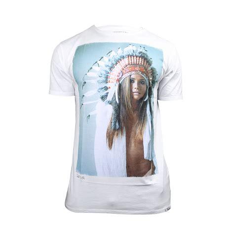 Tshirt Macbeth 01 macbeth white jason reposar headdress mens small medium