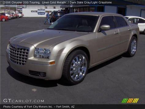 Gold Chrysler 300 by Linen Gold Metallic 2006 Chrysler 300 Touring