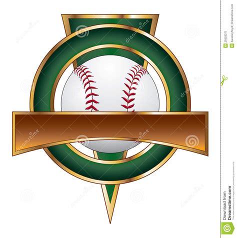 baseball design template triangle stock image image