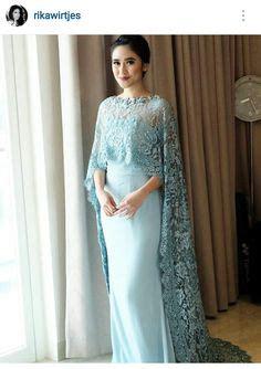 Kaftan Satin Ceruti Anak Krem baju kurung moden lace minimalis baju raya 2016 fesyen trend terkini fesyen trend terkini