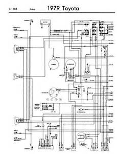 repair manuals toyota pickup 1979 wiring diagrams