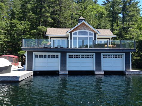boat house ca railing blue sky glass works custom glass shower