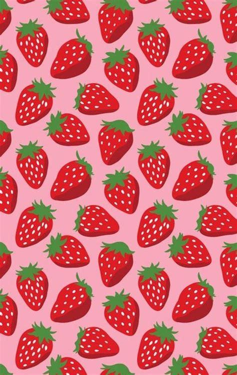 wallpaper cartoon strawberry strawberries wallpaper background wallpapers