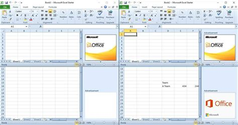 tutorial excel windows 10 open two excel 2010 sheets in separate windows excel