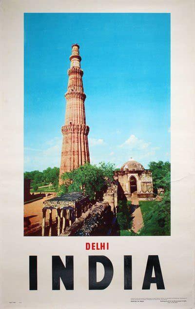 original vintage poster india delhi  sale