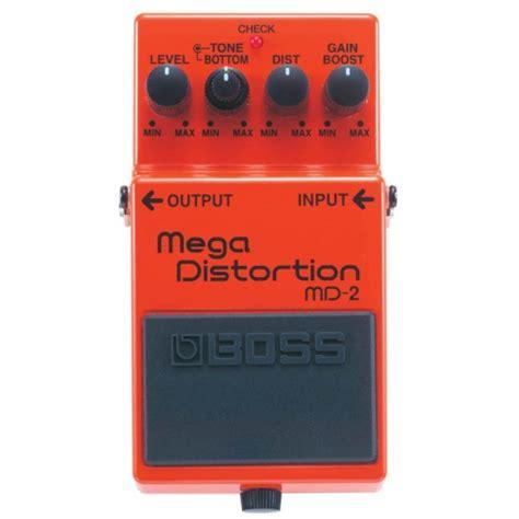 Efek Gitar Distorsi Murah efek gitar stombox bagus murah md 2 mega distortion