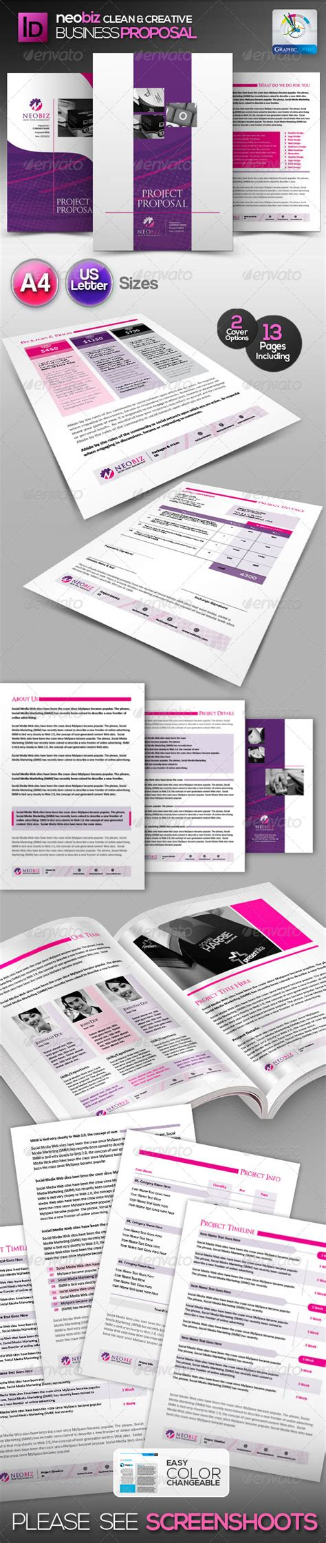 50 professional business proposal templates