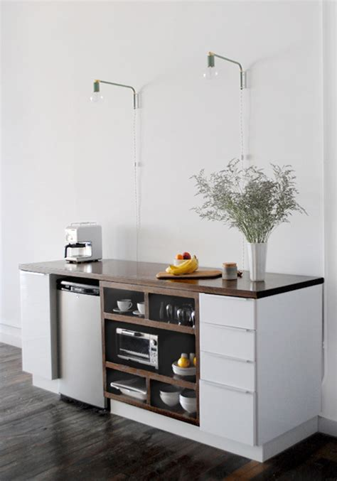 small kitchen project diy project upgraded ikea kitchenette design sponge