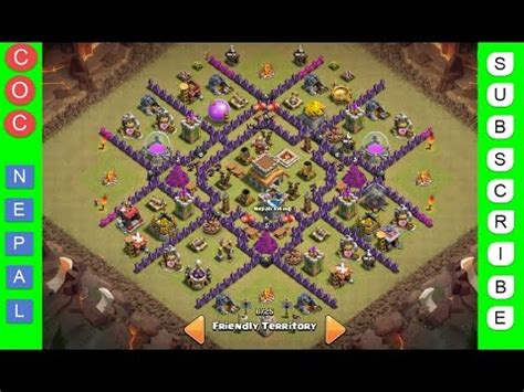 clash of clan 8 town hall war base clash of clans town hall level 8 best war trophy base