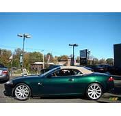 2007 Jaguar XK XK8 Convertible In Racing Green