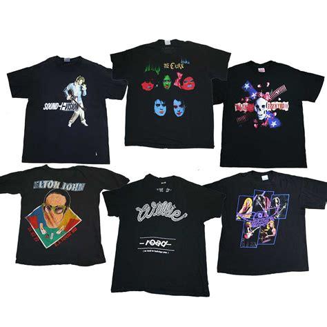 vintage rock tshirts dust factory vintage clothing wholesale